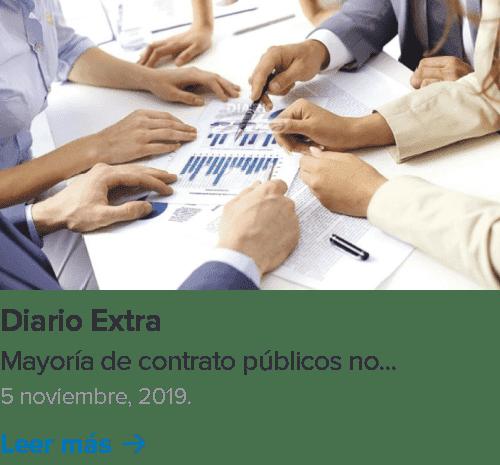 Artículo de Licitaciones Inteligentes en Diario Extra